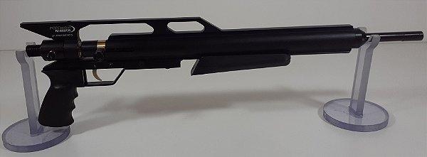 """Kit PCP Custon GIII Preto + Cano Original de 19"""" 5.5mm + Valvula de Baixo Fluxo"""