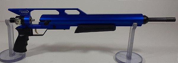 """KIT PCP Custon GIII Azul + Cano Original de 19"""" 5.5mm + Valvula de Alto Fluxo"""