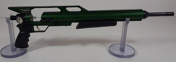 """KIT PCP Custon GIII Verde + Cano Original de 19"""" 5.5mm + Valvula de Alto Fluxo"""