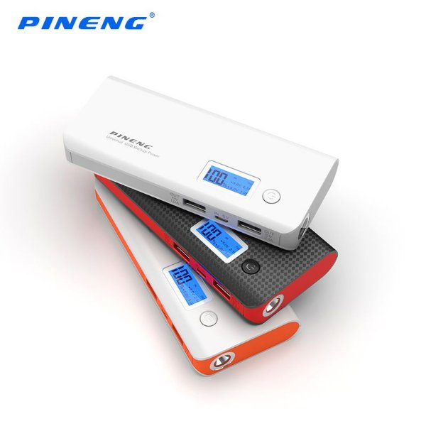 Carregador Portátil Bateria Externa Power Bank Pineng PN968 - 10.000 mAh Original