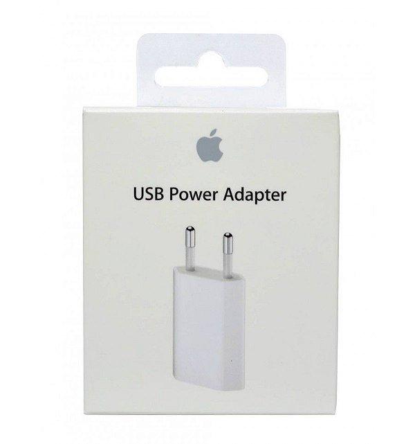 Carregador Fonte Apple USB de 5w Para iPhone Original Genuino Lacrado Apple
