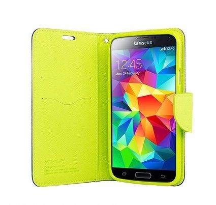 Capa Carteira Samsung Galaxy S5 (Azul/Verde)