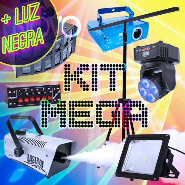 (PROMOÇÃO) Kit Mega + Luz Negra (Grátis) [Aluguel 24h]