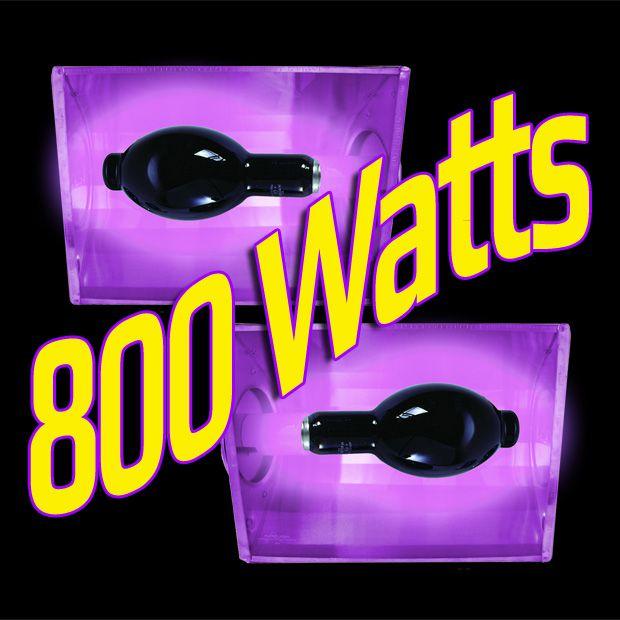 Kit Luz Negra 800 Watts (Aluguel 24h)