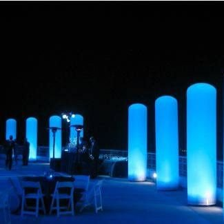 Inflável Decorativo Coluna LED (Aluguel 24h)
