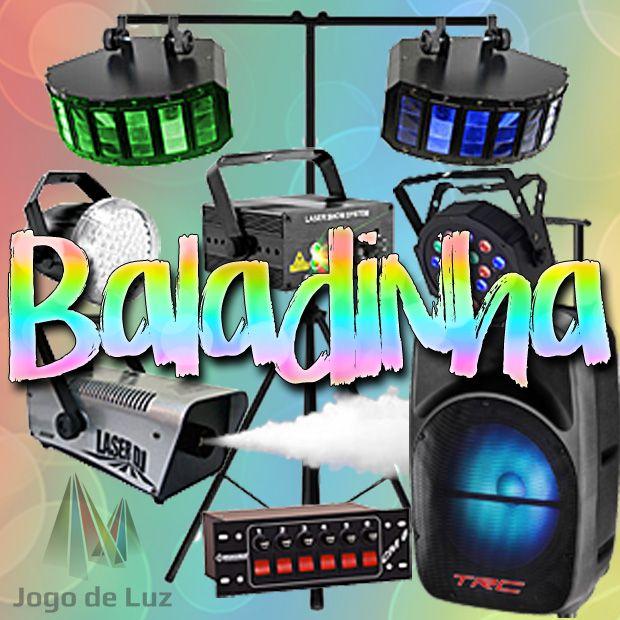 COMBO BALADINHA - Kit Mini ou Standard + Caixinha de Som (Aluguel 24h)