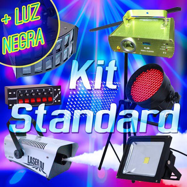 (PROMOÇÃO) Kit Standard + Luz Negra (Grátis) [Aluguel 24h]