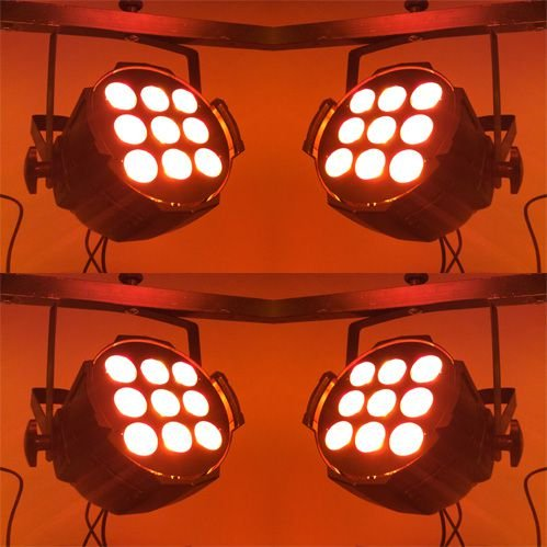 Kit 4 x Optipar LED [Modelo 9-Leds de 18W] (Aluguel 24h)