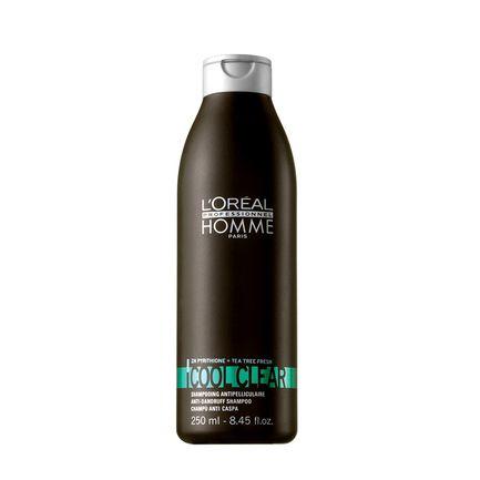 Shampoo Anti Caspa Homme Cool Clear- Loreal - 250ml