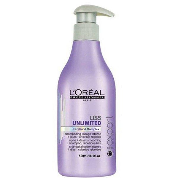 Shampoo Liss Unlimited L'oréal Professionnel - 500ml