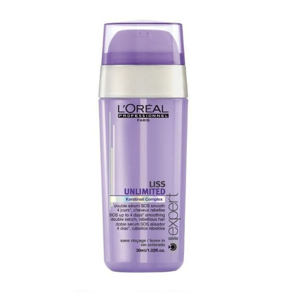 Double Sérum Liss Unlimited SOS L'Oréal Professionnel - 30ml