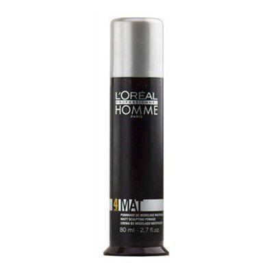 Pasta de Modelagem Homme Mat Force 4 L'Oréal Professionnel - 80ml