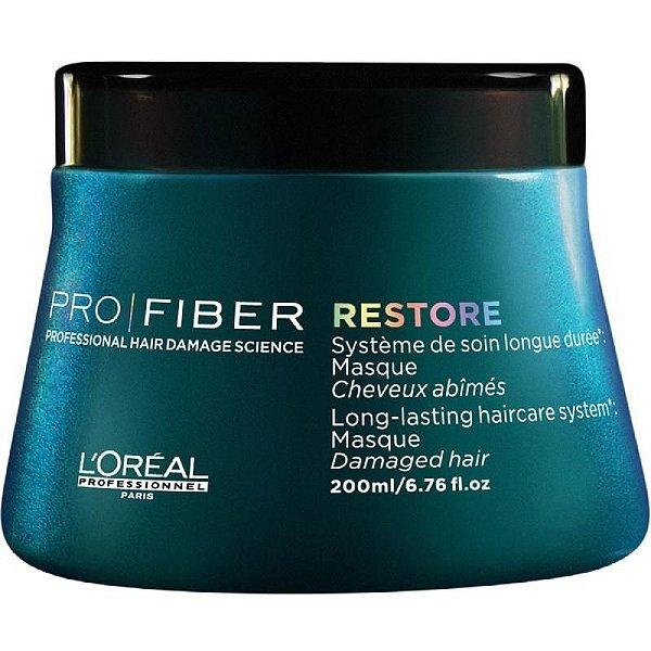 Máscara Pro Fiber Restore - L'Oréal Professionnel - 200ml