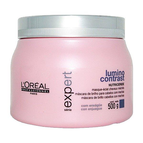 Máscara Lumino Contrast L'Oréal Professionnel - 500g