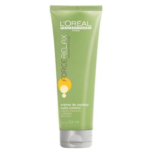 Creme de Pentear Force Relax Nutri-Control - L'Oréal Professionnel - 250ml
