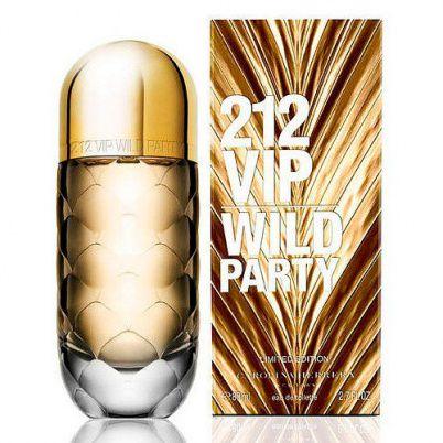 Perfume 212 VIP Wild Party Feminino - EDT - Carolina Herrera - 80ml