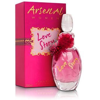 Perfume Arsenal Love story Feminino - EDP - Gilles Cantuel - 100ml