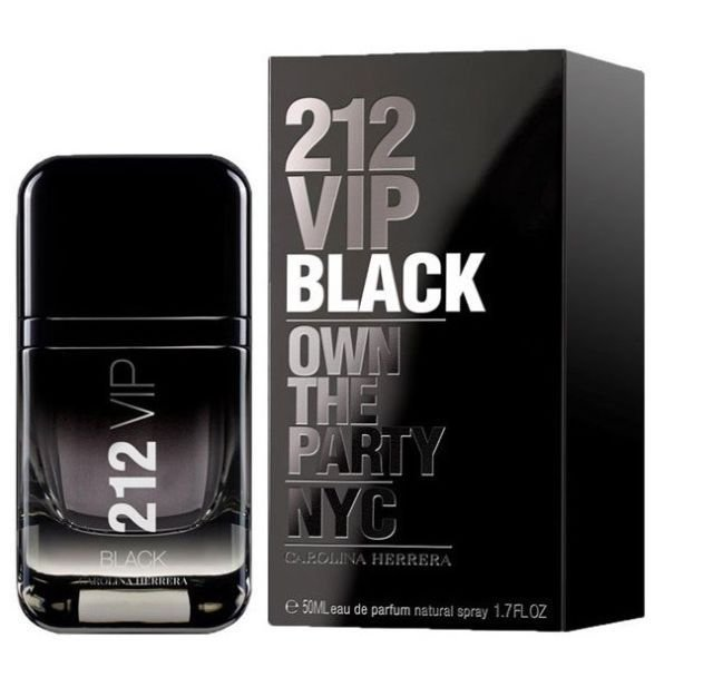 Perfume 212 Vip Black Masculino - EDP - Carolina Herrera - 100ml