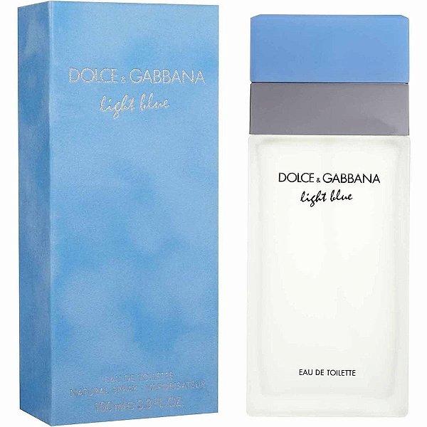Perfume Light Blue Feminino - Eua de Toilette - Dolce & Gabbana