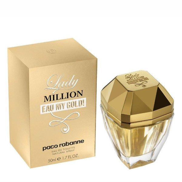 Perfume Lady Million Eau My Gold - Eau de Toilette - Paco Rabanne