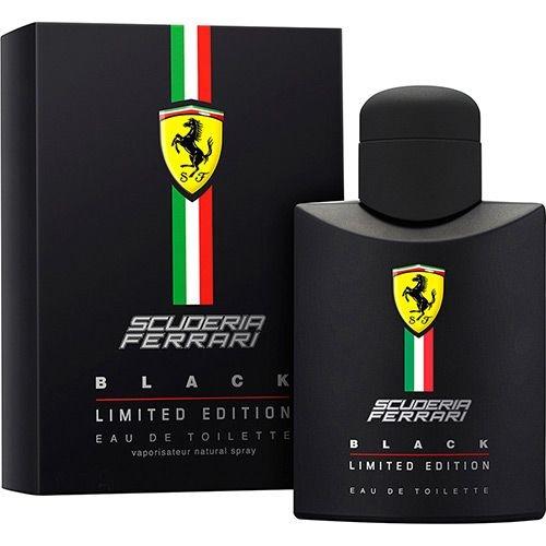 Perfume Ferrari Black - Eau De Toilette - Ferrari
