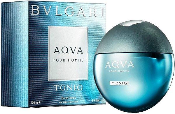 Perfume Aqva Pour Homme Toniq Masculino - Eau de Toilette - Bvlgari