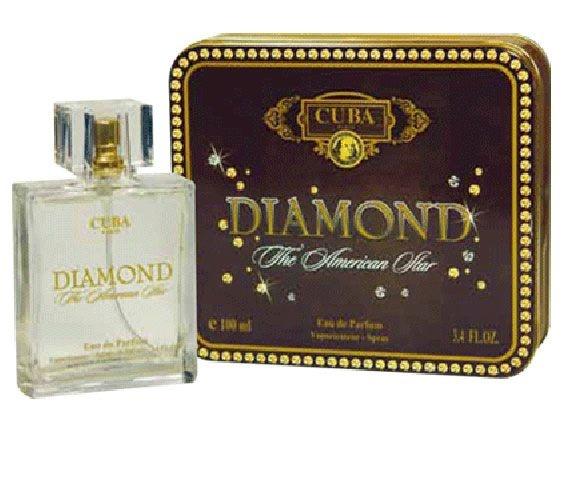 Perfume Cuba Diamond Masculino - Eau de Parfum - Cuba Paris - 100ml