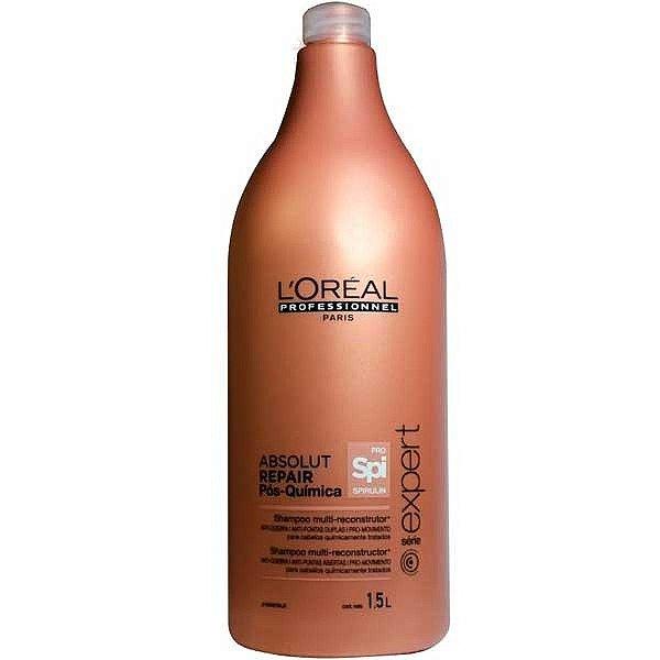 Shampoo L'Oréal Professionnel Absolut Repair Pós Química - 1,5L