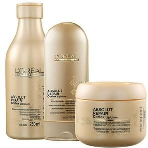 Kit L'Oreal Professionnel Absolut Repair Cortex Lipidium ( 3 produtos)