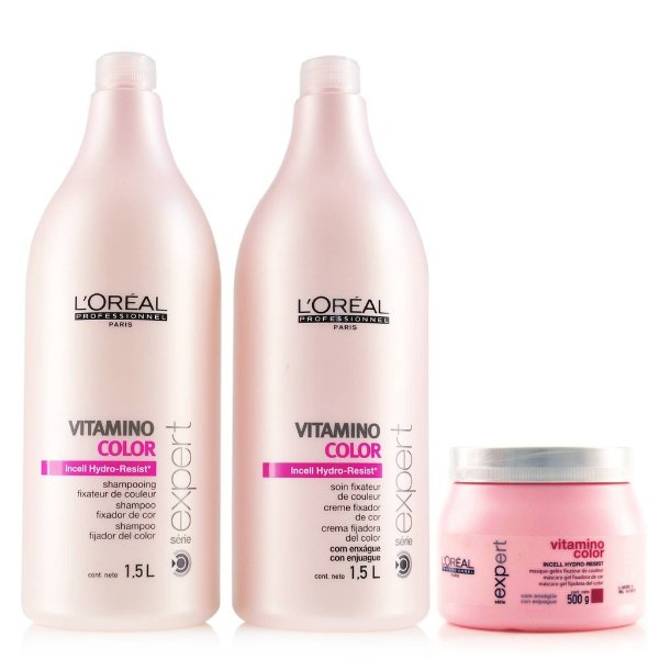 Kit L'Oreal Professionnel Vitamino Color A-OX- 1,5L ( 3 produtos)