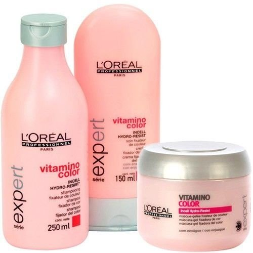 Kit L'Oreal Professionnel Vitamino Color (3 produtos)