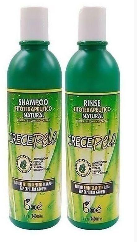 Boé Crece Pelo Shampoo + Condicionador - 340ml