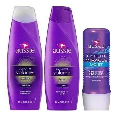 Aussie Volume Kit + 3 Minute Moist