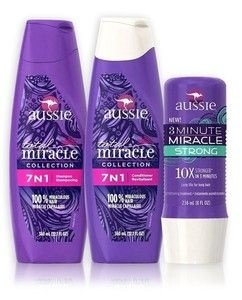 Kit Aussie 7 em 1 Total Miracle + 3 Minute Strong