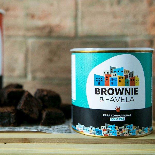 Brownie na Lata pra compartilhar com o Baile - 360g - Brownie de ...