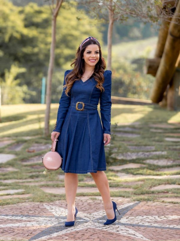 VESTIDO LADY DENIM
