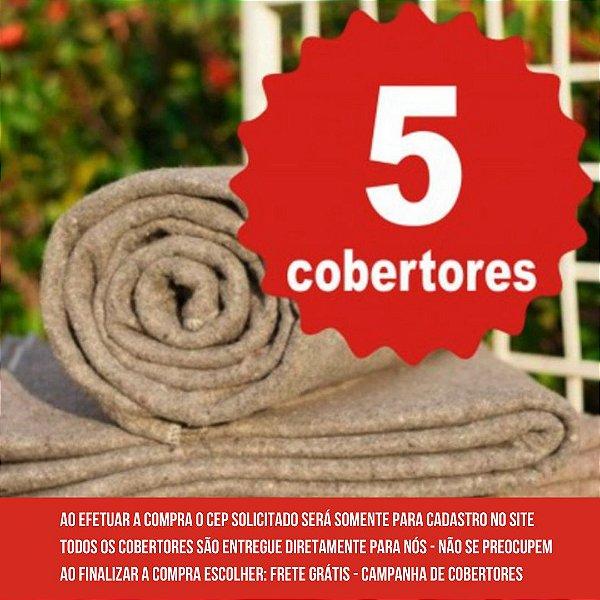 5 COBERTORES - LEPIN ENXOVAIS