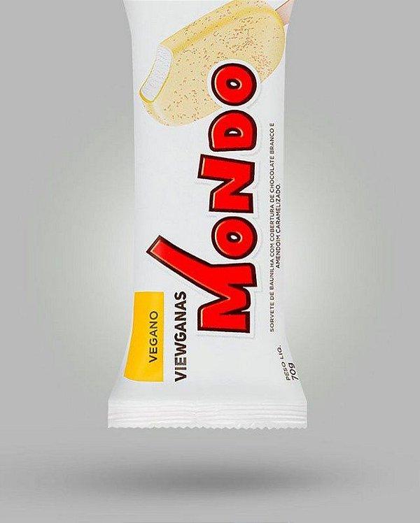 SORVETE VEGANO MONDO CHOCOLATE BRANCO