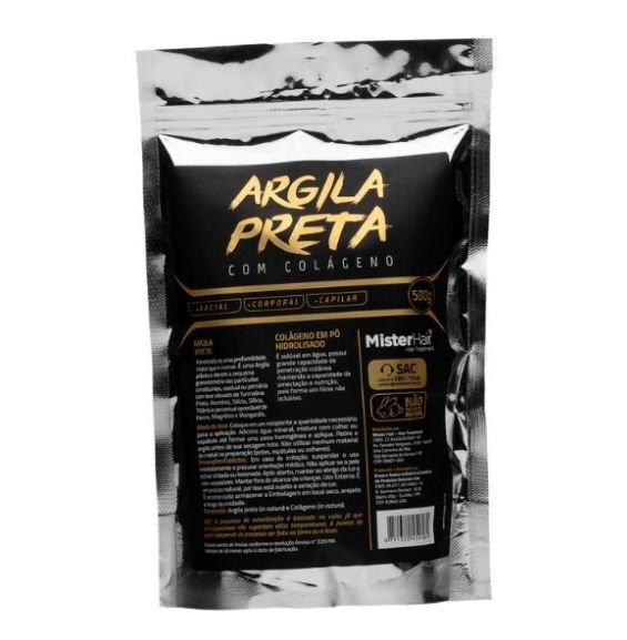 Argila Preta Mister Hair