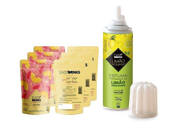 Kit Fruits&Tonic (G&T) Abacaxi + Spray de Limão Siciliano