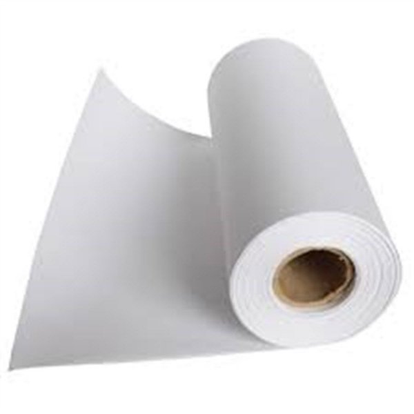 Bobina de Papel Branco Couchê 40 cm