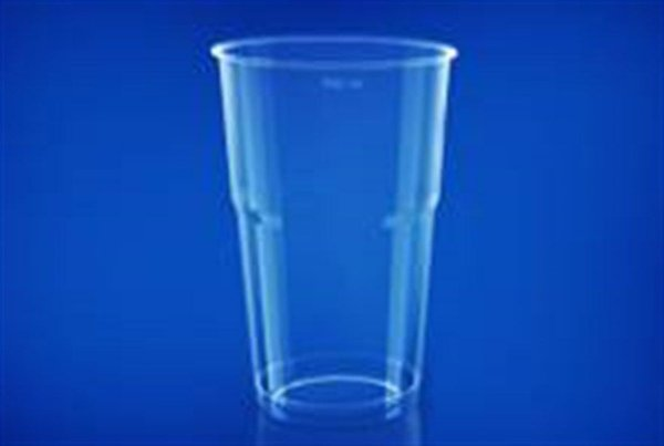 Copo Plástico Cristal 300ml