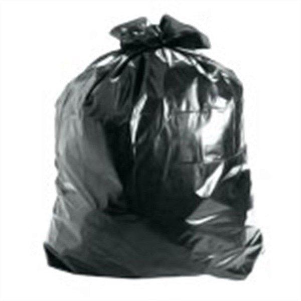 Saco de Lixo 200 litros Preto Reforçado - 50 unidades