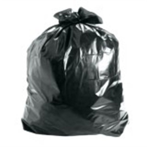 Saco de Lixo 100 litros Preto Comum - 100 unidades