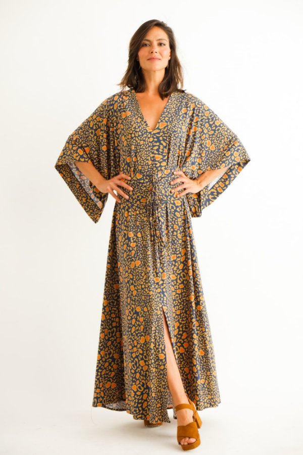 Vestido Longo Karen Jaguar