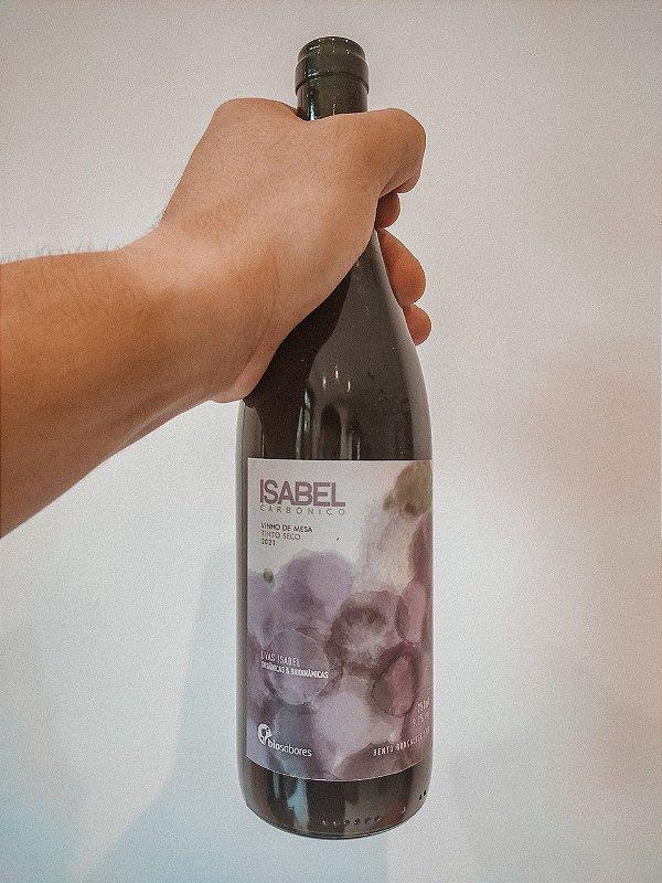 Vinho Tinto Seco ISabelSafra 2021 Bio Sabores