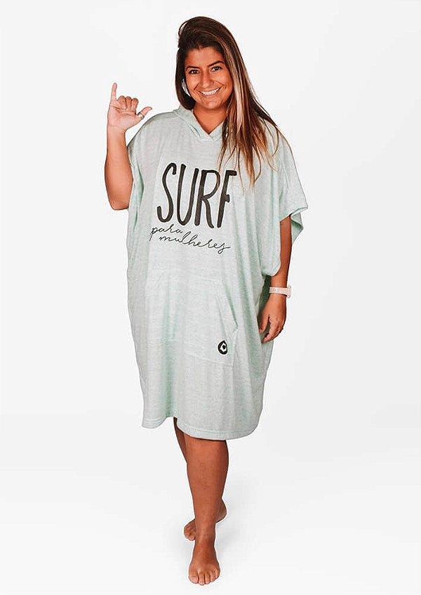 Poncho de surf para mulheres