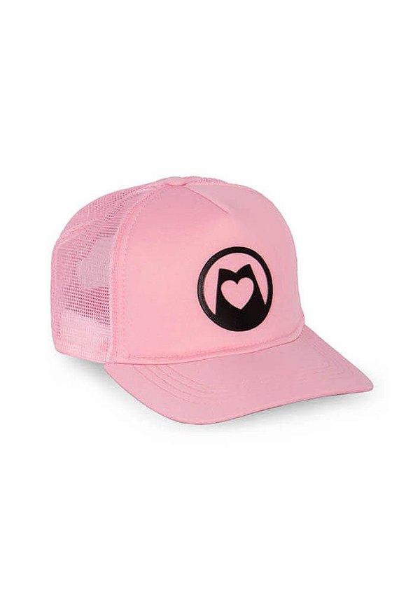 Boné de redinha rosa love