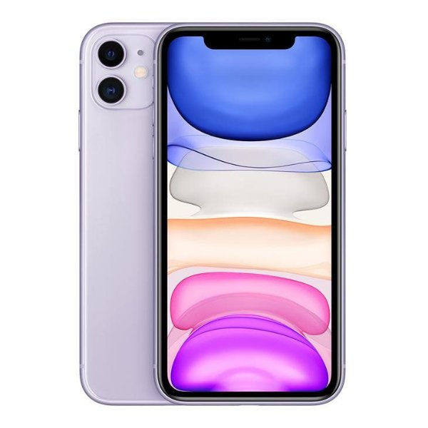 iPhone 11 Roxo 64GB Novo, Desbloqueado com 1 Ano de Garantia - 2YBL7R6X9
