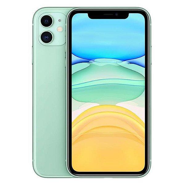iPhone 11 Verde 128GB Novo, Desbloqueado com 1 Ano de Garantia - 7NDZBGJ2W
